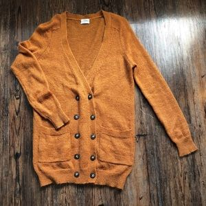 Madewell Wallace double button sweater